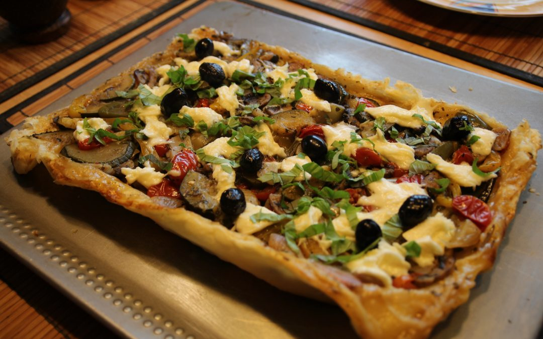 Gemini Recipe – Easy as Pie, Puff Pastry Pizza