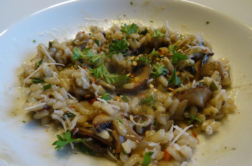 Virgo Recipe: Mushroom Risotto