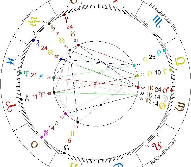 New Moon in Virgo, September 7, 2021